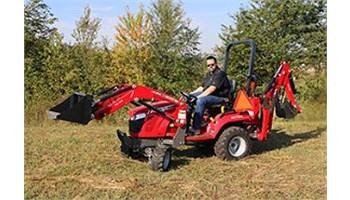 Blades and Backhoes from Massey Ferguson and Steffen Systems