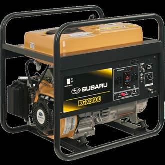New Subaru Industrial Power Products Generators Models For