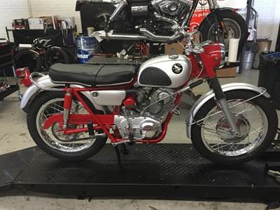 Honda Scrambler Restoration Doc's Motorcycle Parts Waterbury