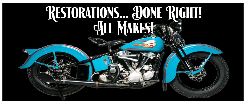 Restorations Doc's Motorcycle Parts Waterbury, CT (203) 757-0295