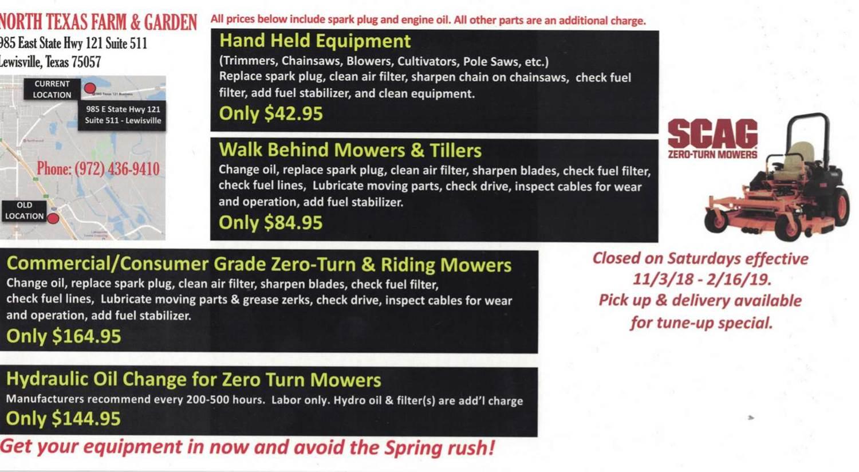 Current Deals North Texas Farm Garden Lewisville Tx 972 436 9410