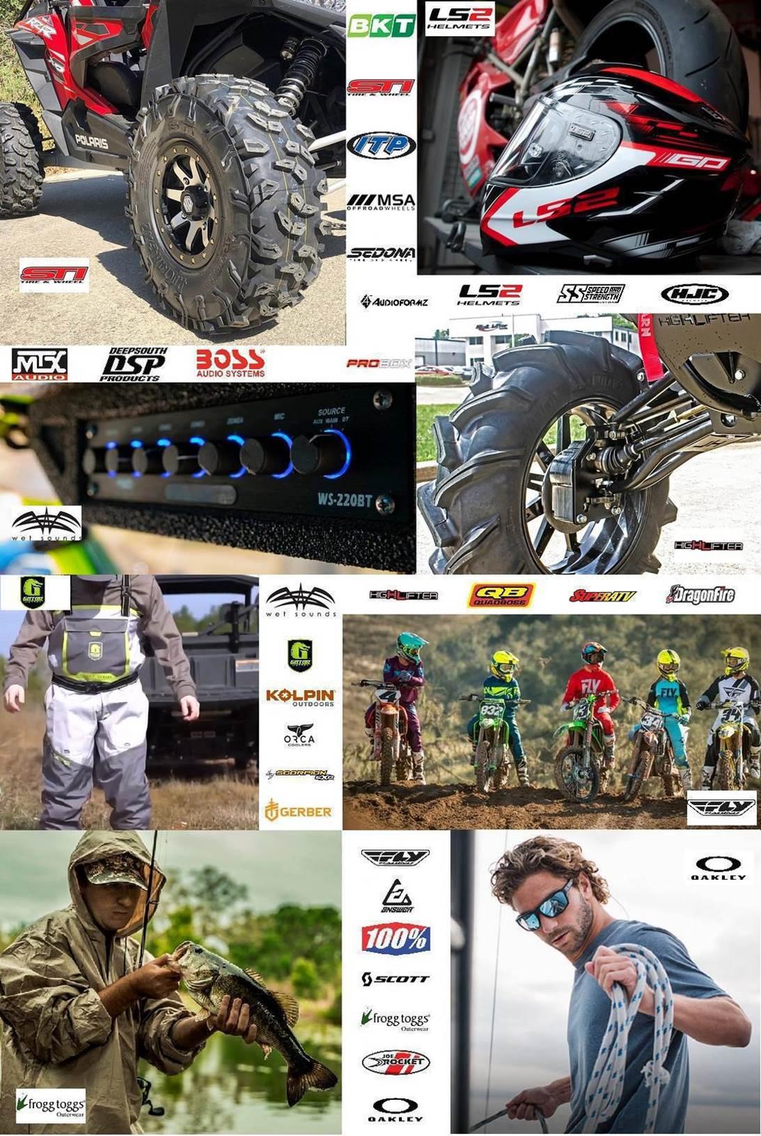 Parts, Accessories, and Apparel Brands Love Motorsports Homosassa