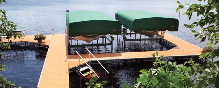FLOE Docks and Lifts Precision Water Sports Gardner, MA (978) 410-7199