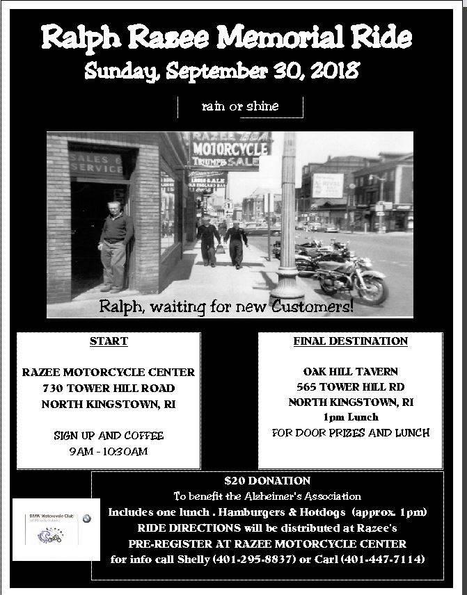 Home Razee Motorcycle Center North Kingstown, RI (401) 295-8837