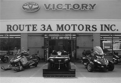 Route 3A Motors is Massachusetts leading recreational dealership. Look no further as we are the leading ATV, Motorcycle, and PWC dealer in Northern, MA.