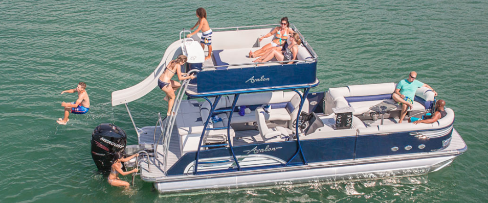 Boat Rentals in Johnson City on Boone Lake Rockingham Marine