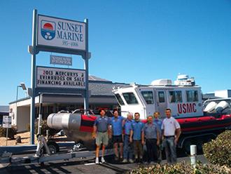 Sunset Marine Team