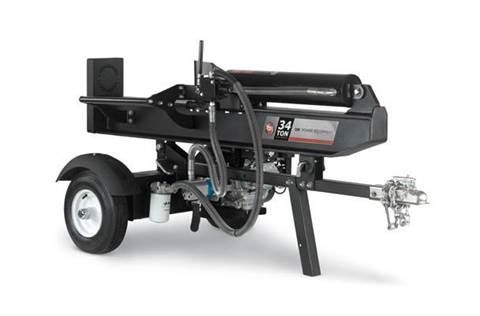 2015 34-Ton Horizontal-Vertical Log Splitter