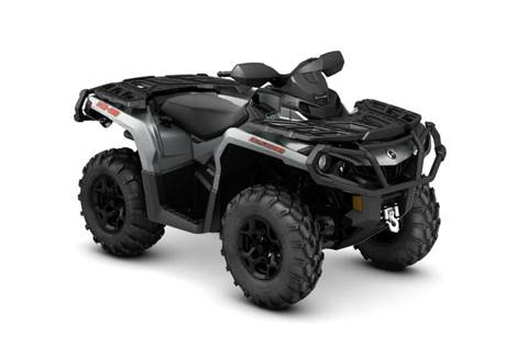 2016 Outlander XT™ 650 - Brushed Aluminum