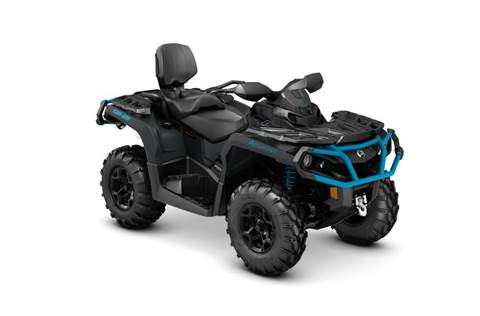 2016 Outlander MAX XT™ 1000R - Matte Black & Blue