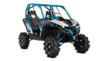 2016 Maverick™ X® mr -Hyper Silver, Black & Octane Blue