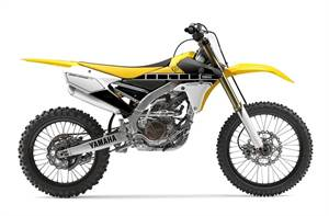 YZ250F - 60th Anniversary Yellow