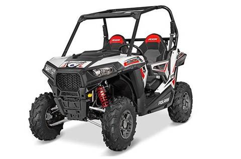 2016 RZR® 900 EPS Trail - White Lightning FOX® Edition