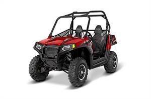RZR® 570 EPS Trail - Sunset Red