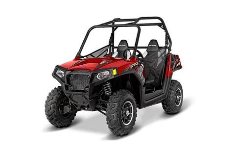 2016 RZR® 570 EPS Trail - Sunset Red