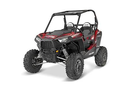 2016 RZR® S 900 EPS - Matte Sunset Red