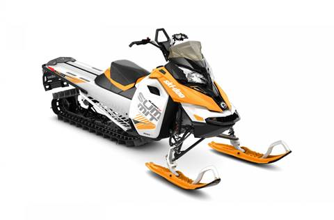 2017 Summit X 800R E-TEC 174 Orange Crush and White