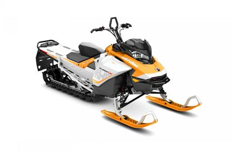 2017 Summit X 850 E-TEC 154 Orange Crush and White