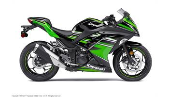 2017 NINJA 300 ABS KRT EDITION