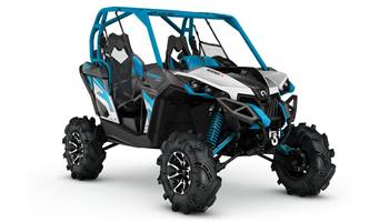 2017 Maverick™ X® mr - Hyper Silver, Black & Blue