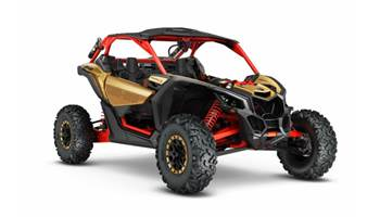2017 Maverick™ X3 X rs - Gold & Can-Am Red