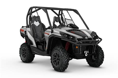 2017 Commander™ XT™ 800R - Brushed Aluminum
