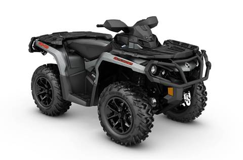 2017 Outlander™ XT™ 850 - Brushed Aluminum