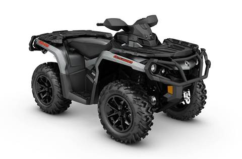 2017 Outlander™ XT™ 650 - Brushed Aluminum