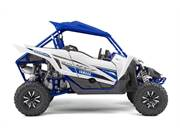 Stock Image: Team Yamaha Blue w/Blue Suntop & Aluminum Wheels