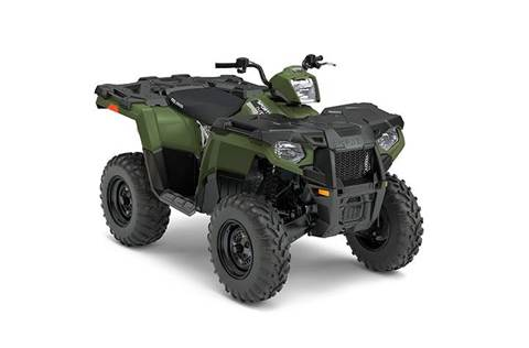 2017 Sportsman® 450 H.O. EPS Sage Green