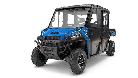 2017 RANGER CREW XP 1000 EPS NorthStar HVAC Vel Blue