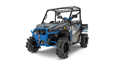 2017 RANGER XP 1000 EPS High Lifter Titanium Metallic