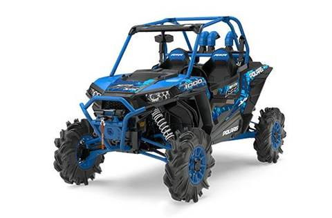 2017 RZR XP 1000 EPS High Lifter Edition Velocity Blue