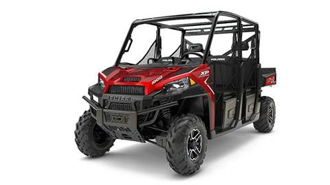 2017 RANGER CREW® XP 1000 EPS Sunset Red