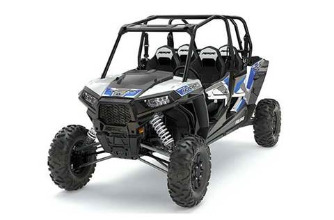 2017 RZR XP® 4 1000 EPS White Lightning w/Reflex Blue