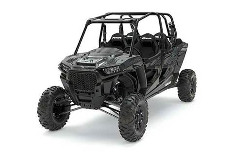 2017 RZR XP® 4 Turbo EPS - Titanium Matte Metallic