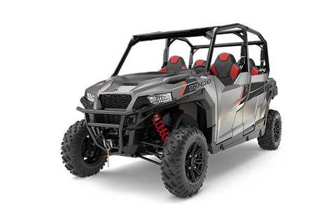 2017 Polaris GENERAL™ 4 1000 EPS Silver Pearl