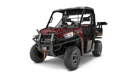 2017 RANGER XP® 1000 EPS Ranch Edition Maroon Metallic