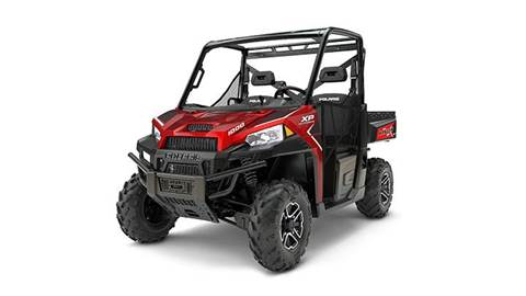 2017 RANGER XP® 1000 EPS Sunset Red