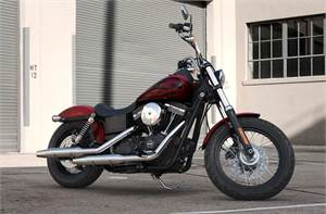 FXDB Street Bob® - Hard Candy Color Option