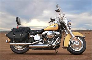 FLSTC Heritage Softail® Classic - Two-Tone Option
