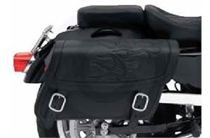HIGHWAYMAN TATTOO SADDLEBAGS