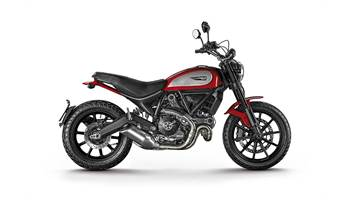 2017 Scrambler Icon Red