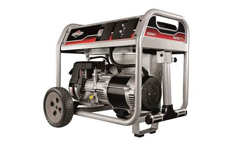 2017 5000 Watt Portable Generator CARB Compliant (030681)