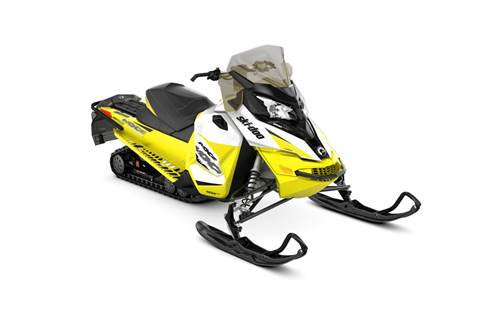2018 MXZ® TNT® 1200 4-TEC® - White/Sunburst Yellow
