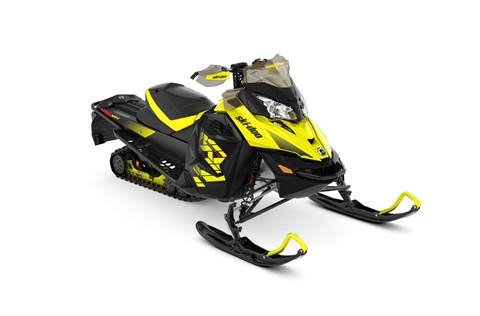 2018 MXZ® X 600 H.O. E-TEC® - Sunburst Yellow/Black