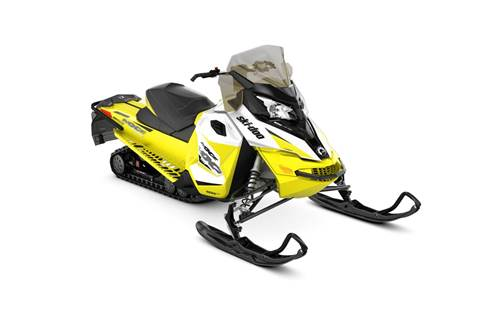 2018 MXZ® TNT® 600 H.O. E-TEC® - White/Sunburst Yellow