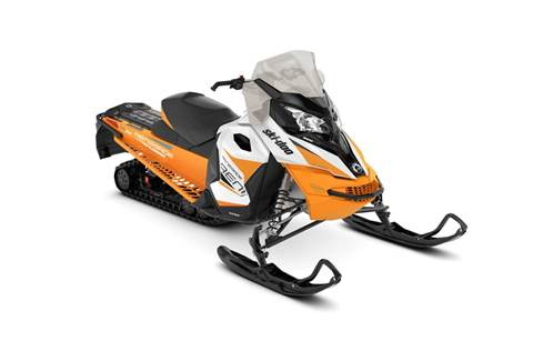 2018 Renegade® Adrenaline 1200 4-TEC® - Orange Crush