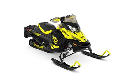 2018 MXZ® X 1200 4-TEC® - Sunburst Yellow/Black