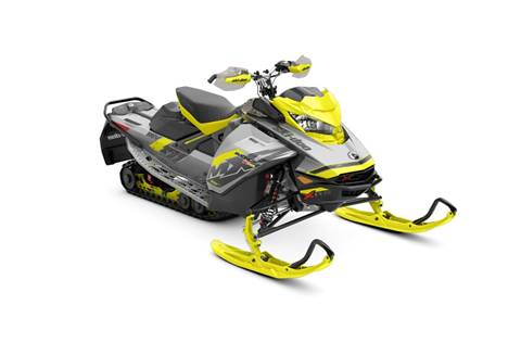 2018 MXZ® X-RS® 850 E-TEC®-Hyper Silver/Sunburst Yellow
